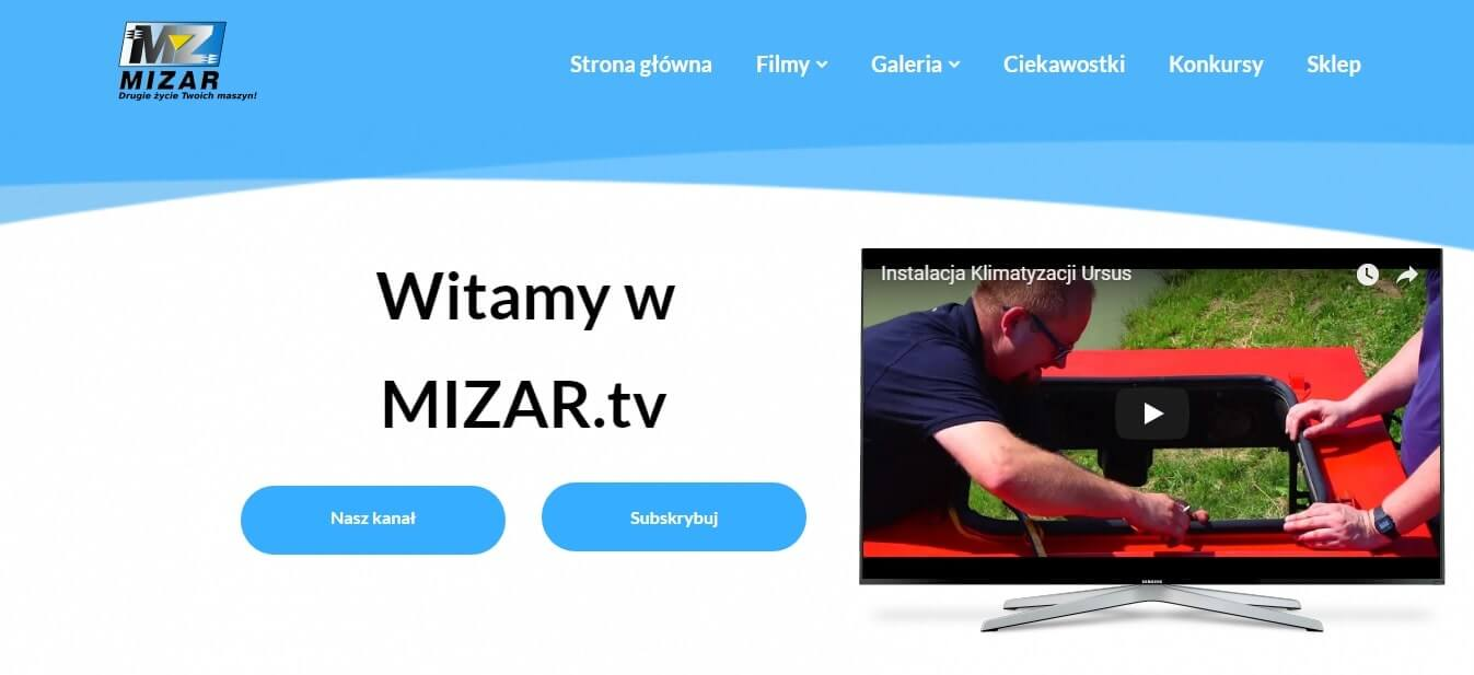 MIZAR.tv - nowy portal